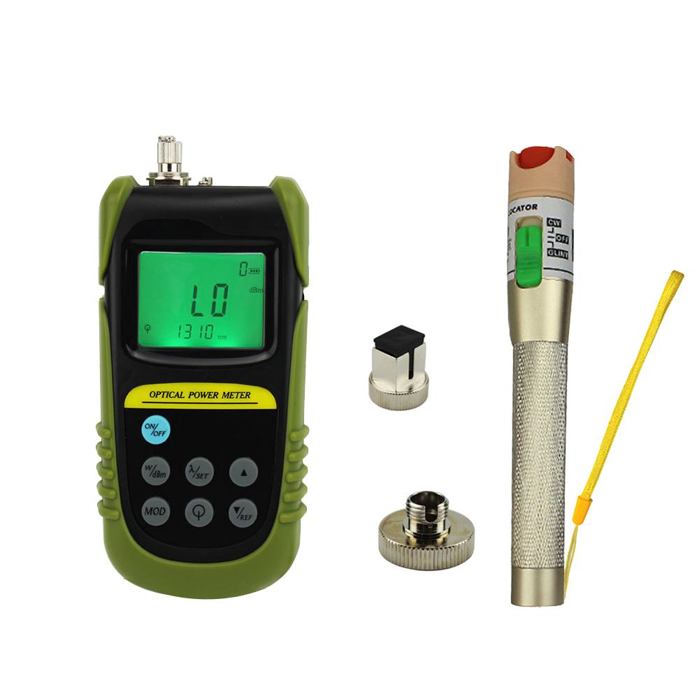 Optical Power Meter : Fiber optical power meter mw visual fault locator