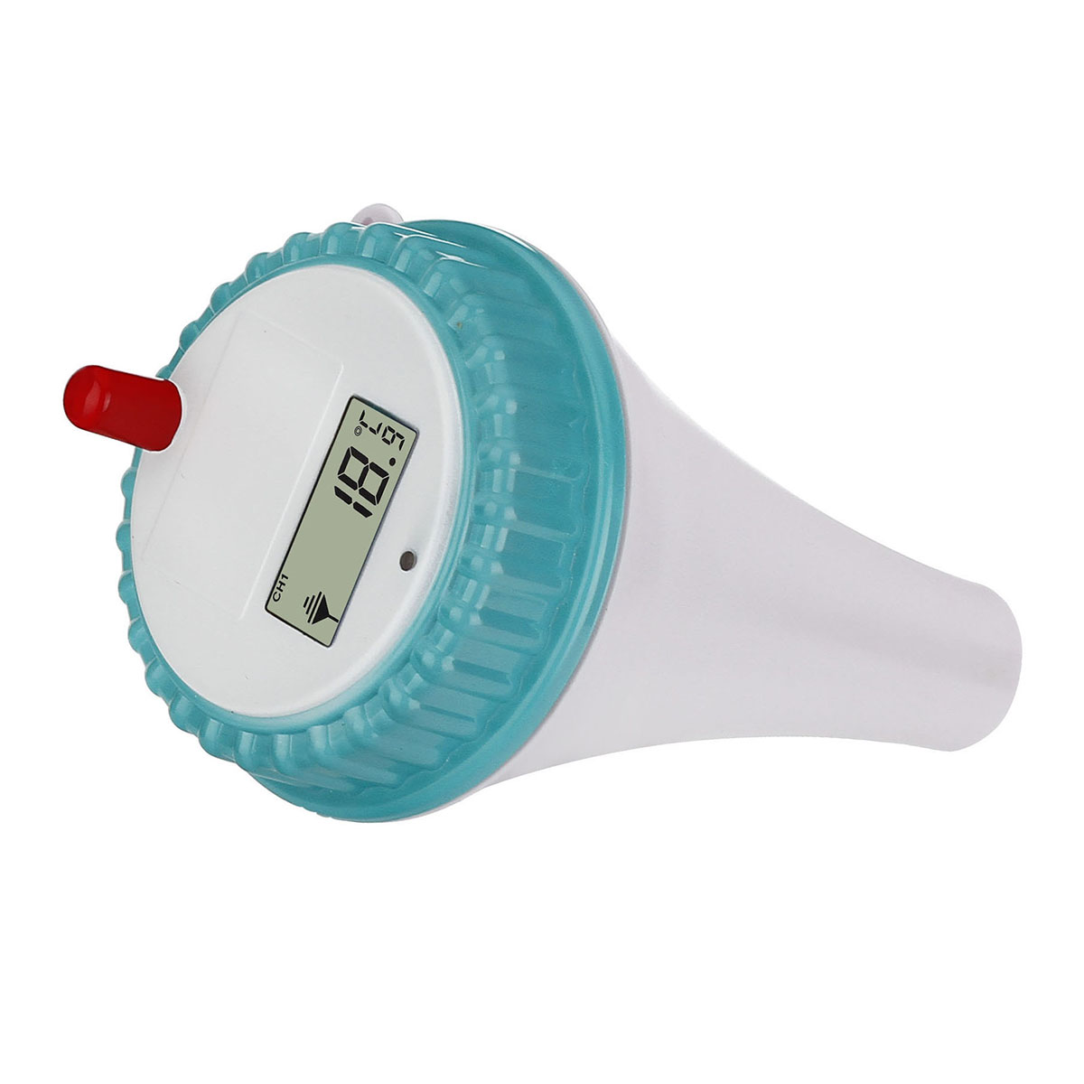 Wireless digital floating swimming pool thermometer temperature remote sensor ebay for Good temperature for swimming pool