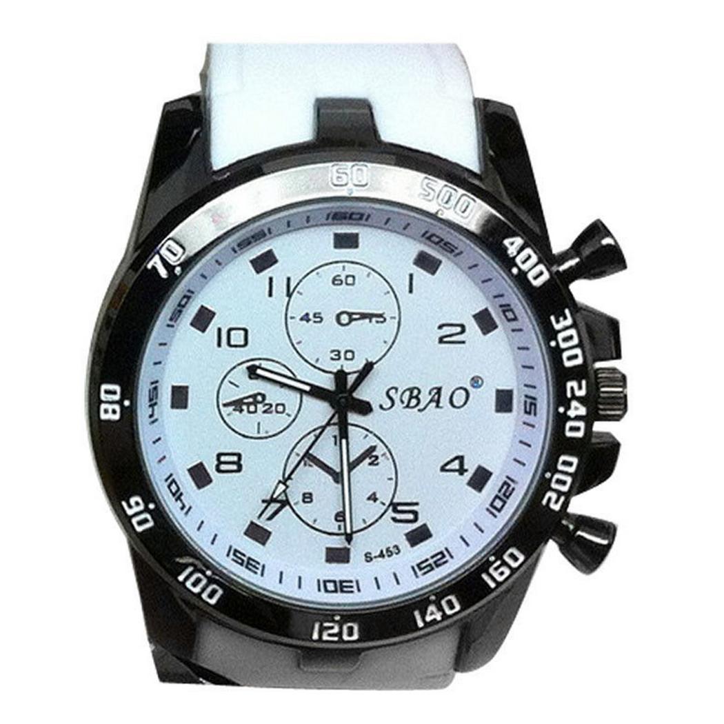 Moderne armbanduhr herren  Luxus Edelstahl Armbanduhr Sportuhr Analog Armband Uhr Quartz ...