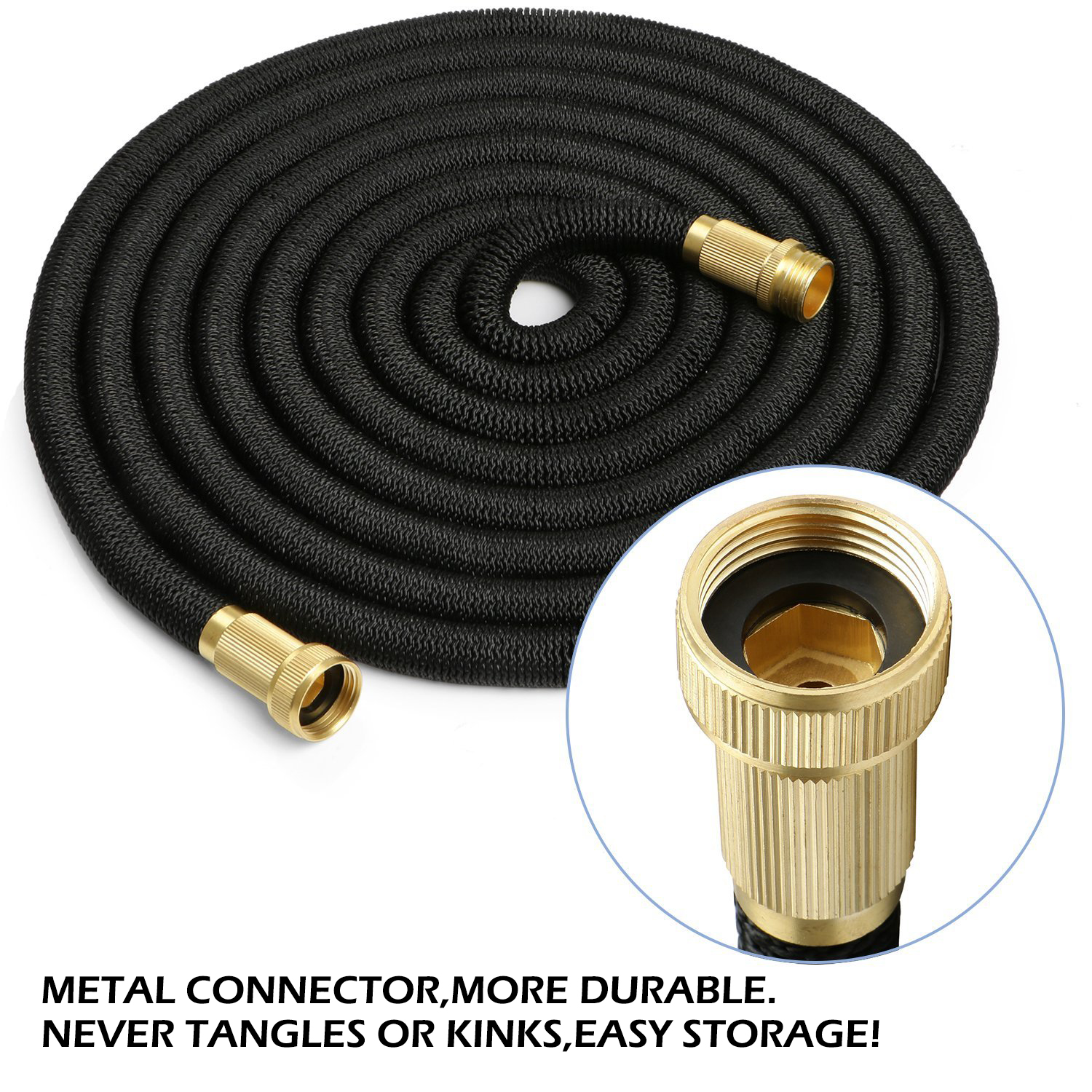Times expandable flexible garden water hose pipe solid