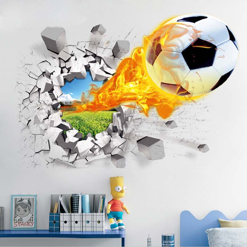 3d wall sticker decor decal vinyl art mural home window 3d wall sticker self adhesive wallpaper ceramic tile