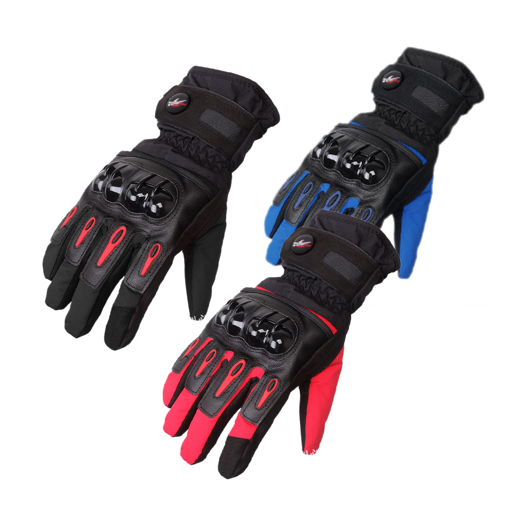 Driving gloves winter - Carbon Fiber Motorcycle Cycling Racing Full Finger Gloves
