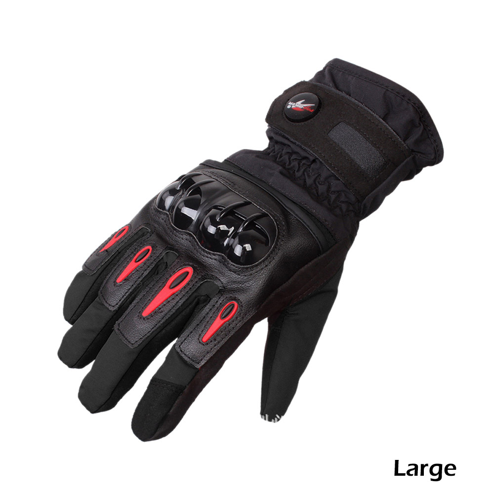 Driving gloves winter - Pro Biker Racing Motorcycle Driving Gloves Winter Touch